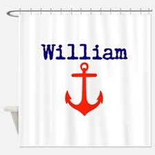 William Anchor Shower Curtain