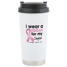 Daughter Breast Cancer Travel Mug