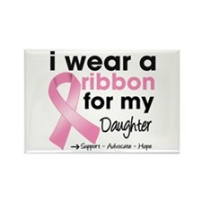 Daughter Breast Cancer Rectangle Magnet