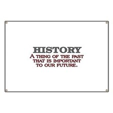 History A Thing of the Past Banner