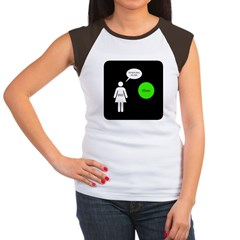 Breaking Up With Pluto Women's Cap Sleeve T-Shirt