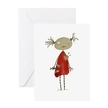 vodoodoll2 Greeting Cards