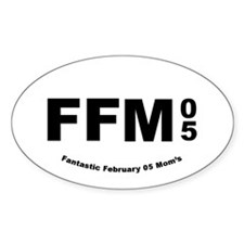 FFM 4a Oval Decal