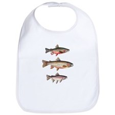 Stacked Trout Bib
