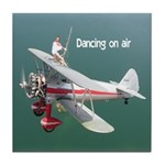 Silver Wings Wingwalking Tile Coaster