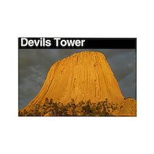 Devils Tower NM Rectangle Magnet