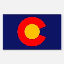CO - Colorado Sticker (Rectangle)