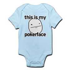 this is my pokerface Infant Bodysuit