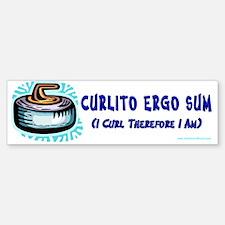 Curlito Ergo Sum Bumper Bumper Bumper Sticker