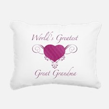 World's Greatest Great Grandma (Heart) Rectangular