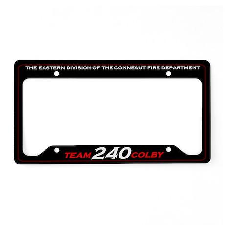 Team Colby License Plate Holder (240)