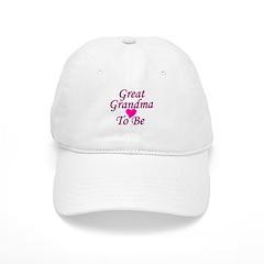 Great Grandma To Be Baseball Cap