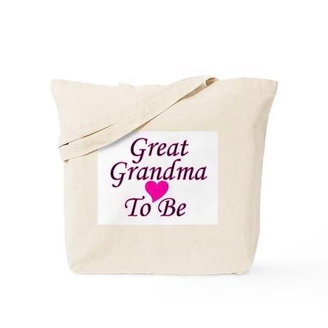 Great Grandma To Be Tote Bag