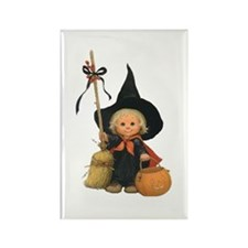Little Witch Rectangle Magnet