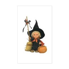 Little Witch Rectangle Decal