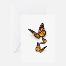 Monarch Butterlies Greeting Card