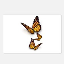 Monarch Butterlies Postcards (Package of 8)