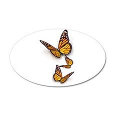 Monarch Butterlies Wall Decal