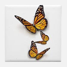 Monarch Butterlies Tile Coaster