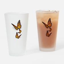 Monarch Butterlies Drinking Glass