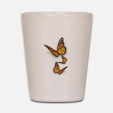 Monarch Butterlies Shot Glass