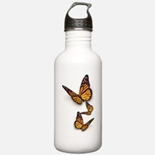 Monarch Butterlies Sports Water Bottle