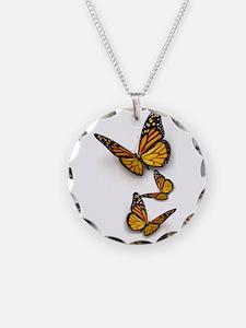 Monarch Butterlies Necklace