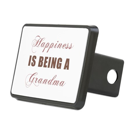 Grandma (Happiness) Rectangular Hitch Cover