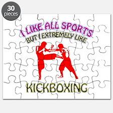 Kickboxing Design Puzzle