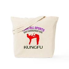 Kung Fu Design Tote Bag