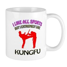 Kung Fu Design Small Mug