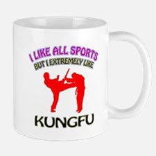 Kung Fu Design Small Small Mug