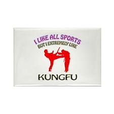 Kung Fu Design Rectangle Magnet