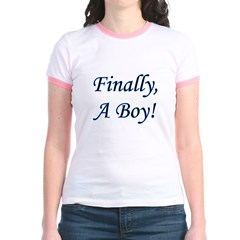 Finally, A Boy! T