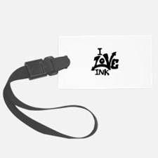 I Love Ink Luggage Tag