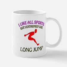 Long Jump Design Mug