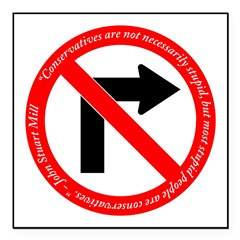 No Right Turn Square John Stuart Mill quote.psd Sq