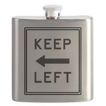 Keep Left Mousepad.psd Flask