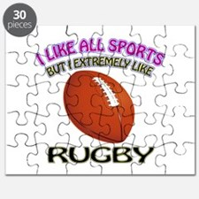 Rugby Design Puzzle