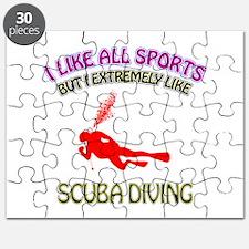 Scuba Diving Design Puzzle