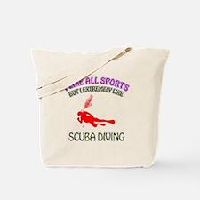 Scuba Diving Design Tote Bag