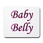 Baby Belly Mousepad