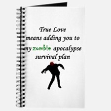 True Love Zombie Journal