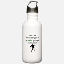 True Love Zombie Water Bottle