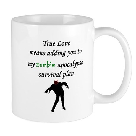True Love Zombie Mug