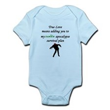 True Love Zombie Infant Bodysuit