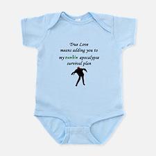 True Love Zombie Infant Bodysuit