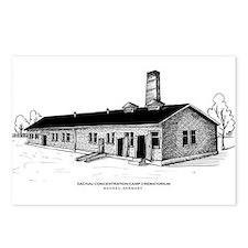 Dachau Crematorium Postcards (Pk of 8)