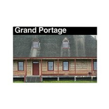 Grand Portage NM Rectangle Magnet