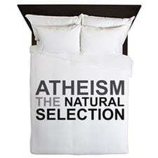Atheism The Natural Selection Queen Duvet